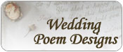 Wedding Poem Embroidery Desgns